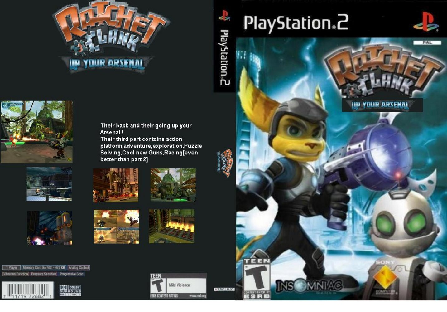Ratchet Clank Up Your Arsenal Junglekey Com Image