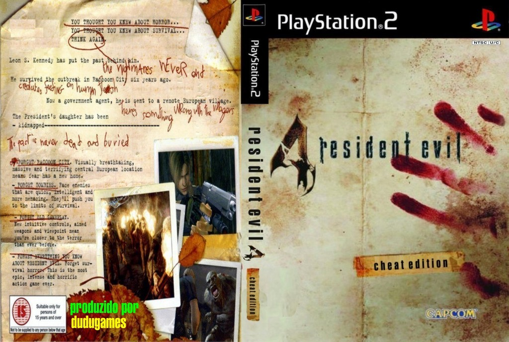 Baixar Resident Evil 4 Cheat Edition Pt-Br  | Extremo