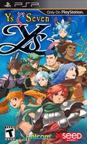 Ys Seven PSP